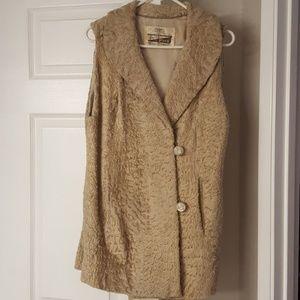 Jackets & Blazers - Vintage fur vest